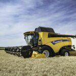 El mantenimiento de la cosechadora CX 7/8
