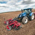 Tractor especializado en el sector de los cereales